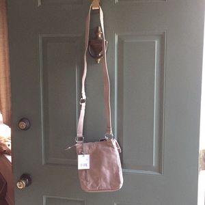 HOBO Light tan leather crossbody purse NWT
